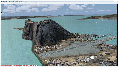 "Rock of Gibraltar: ""Gibraltar04"" Freeware Scenery"